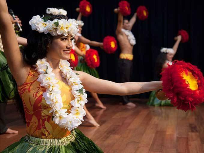 25 Amazing activities in Waikiki with kids featured by top Hawaii blog, Hawaii Travel with Kids: See live hula shows at Ala Moana Center on Oahu