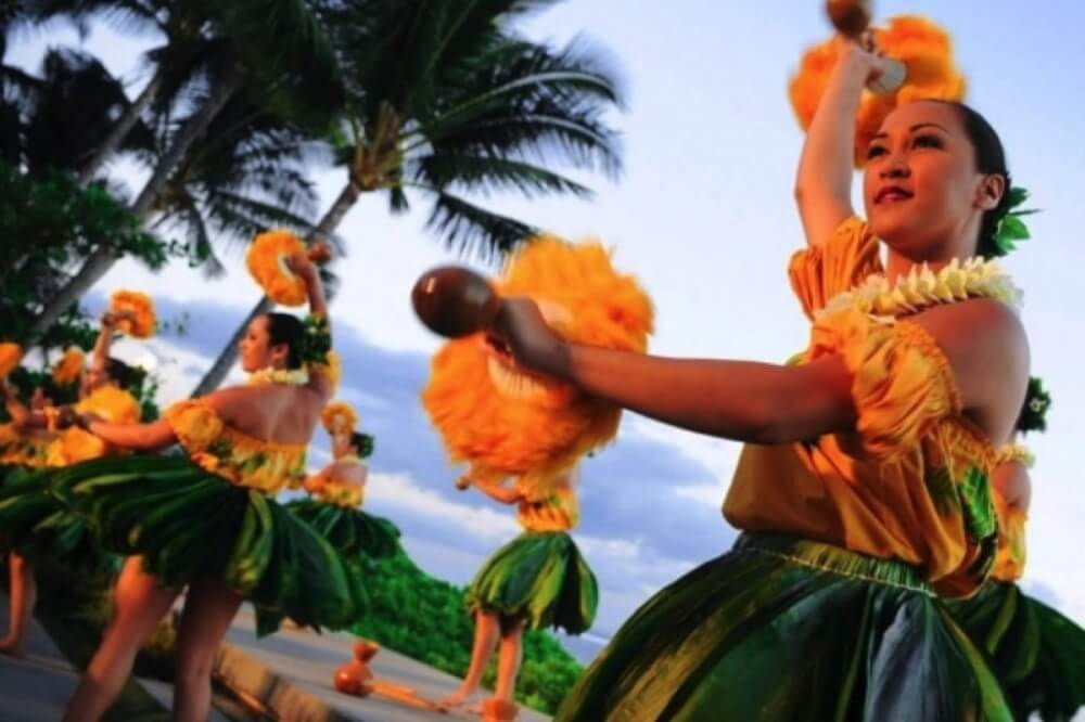 The Best Luau in Maui featured by top Hawaii travel blog, Hawaii Travel with Kids: The Feast at Lele is one of the best luaus on Maui