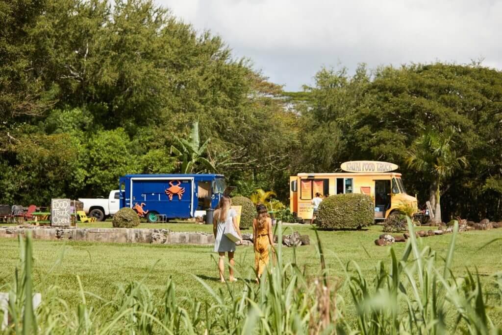 Kauai has some of the best Hawaiian food trucks.