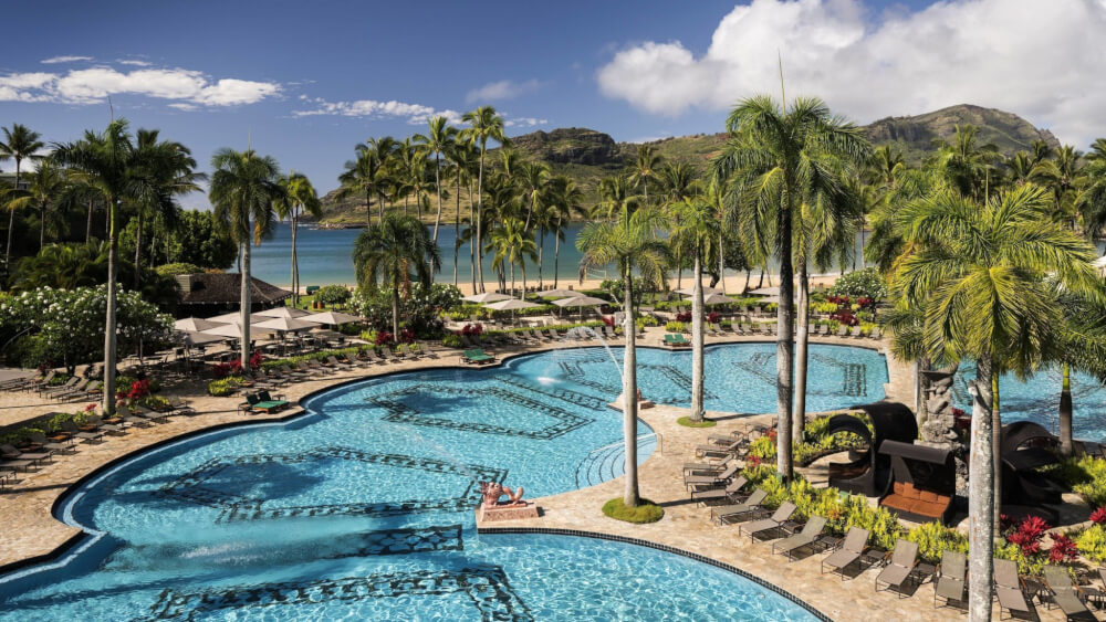 The Best Kauai Beaches for families featured by top US travel blog, Hawaii Travel with Kids: The Kauai Marriott is one of the best Kauai hotels on the East Side