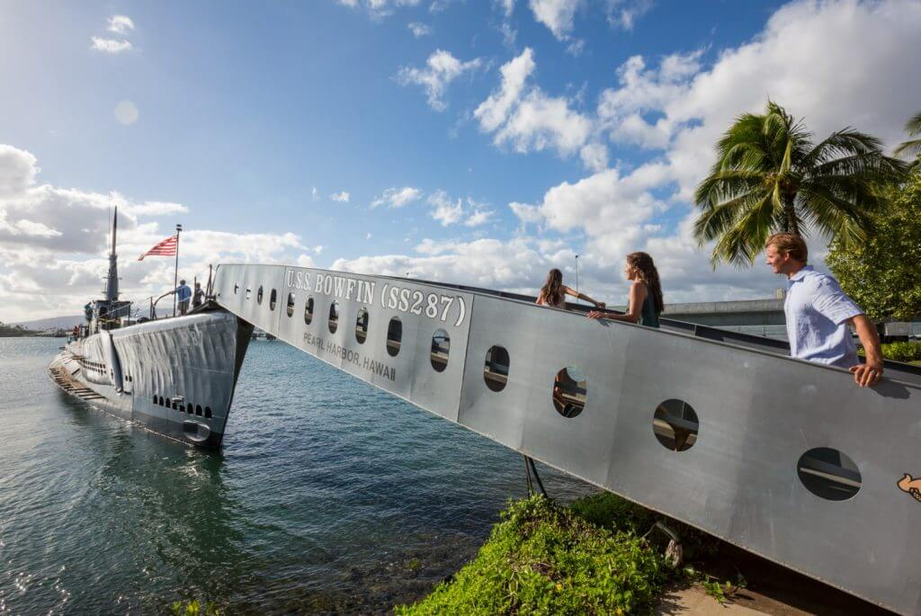 Pearl Harbor is one the top attractions on Oahu for families