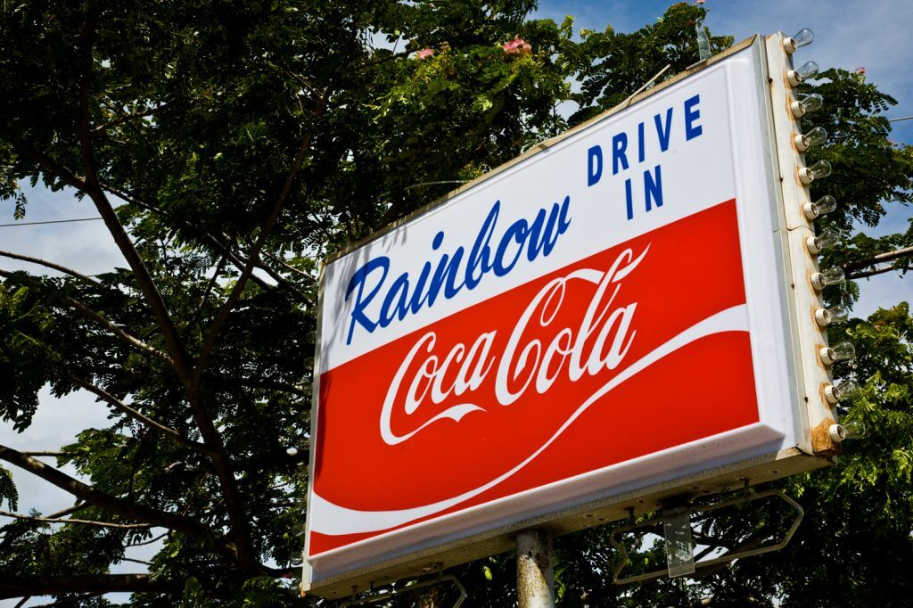 Rainbow Drive In is one of the best places to eat on Oahu for families