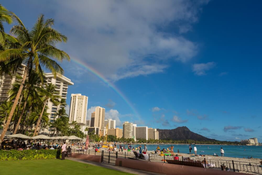 Hawaii on a Budget: What Not to Do in Hawaii to Save Time and Money, tips featured by top Hawaii travel blog, Hawaii Travel with Kids: Waikiki Beach, Oahu, Hawaii--Waikiki is one of the best places to stay on Oahu