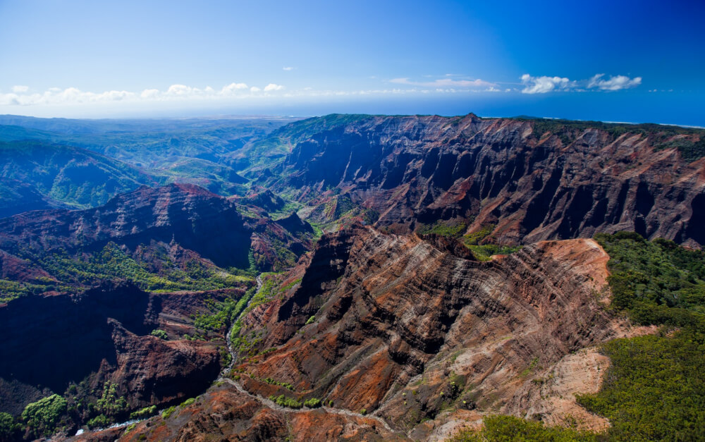 50 Best Places to Visit in Hawaii with your Family featured by top Hawaii blog, Hawaii Travel with Kids: Waimea Canyon is one of the top Kauai attractions for families.