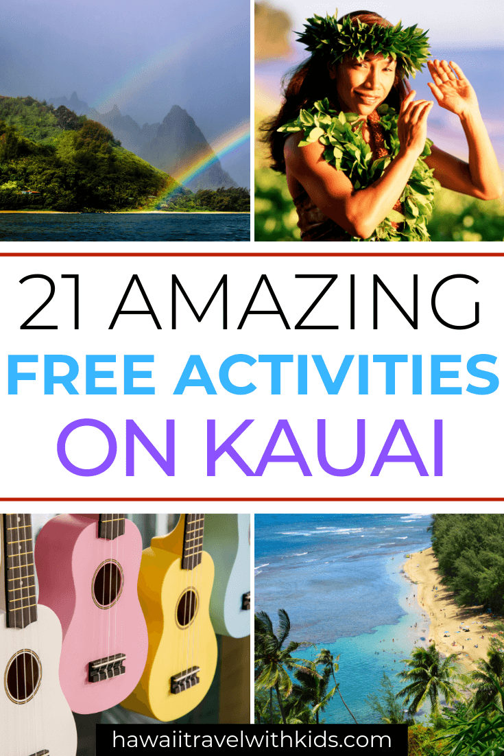 The Best 21 Free Things to do on Kauai with Kids featured by top Hawaii travel blog, Hawaii Travel with Kids