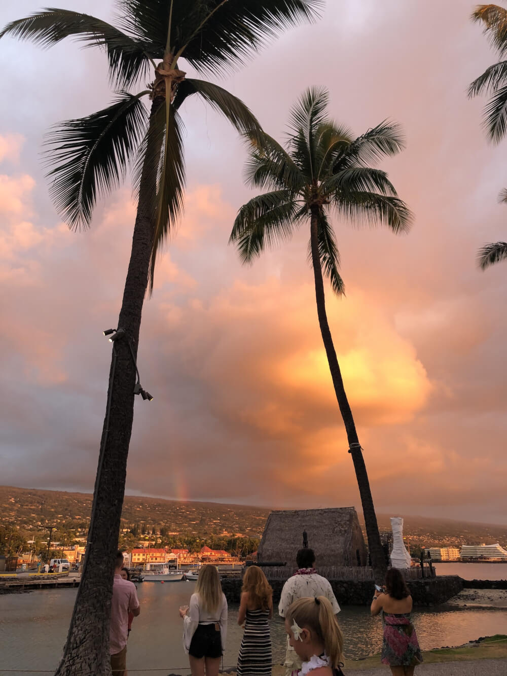 Everything you Need to Know About Traveling to Hawaii Big Island with Kids featured by top Hawaii travel blog, Hawaii Travel with Kids   This rainbow sunset is just one reason to visit the Big Island with kids in Hawaii