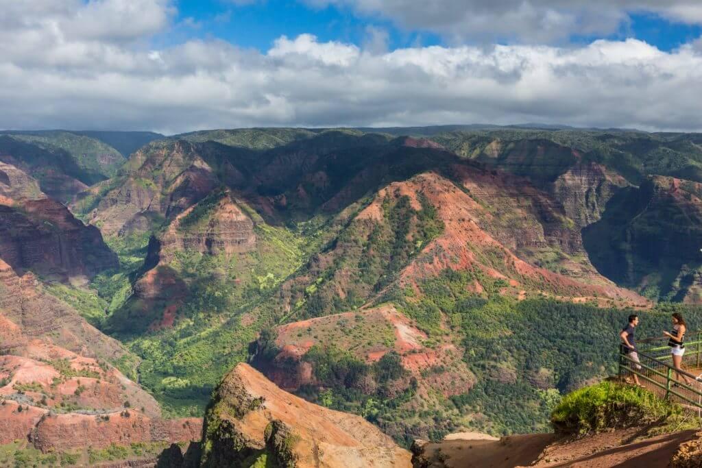 Waimea Canyon is one of the best free things to do on Kauai and has awesome Kauai hikes and views