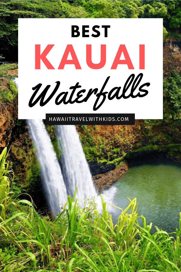 Top 11 Best Kauai Waterfalls you Should Visit featured by top Hawaii travel blog, Hawaii Travel with Kids: Heading on a Kauai vacation? Find out 11 of the best Kauai waterfalls to visit. Some you'll need to hike to, but others can be seen from the comfort of your car. Don't miss these amazing Kauai sights!