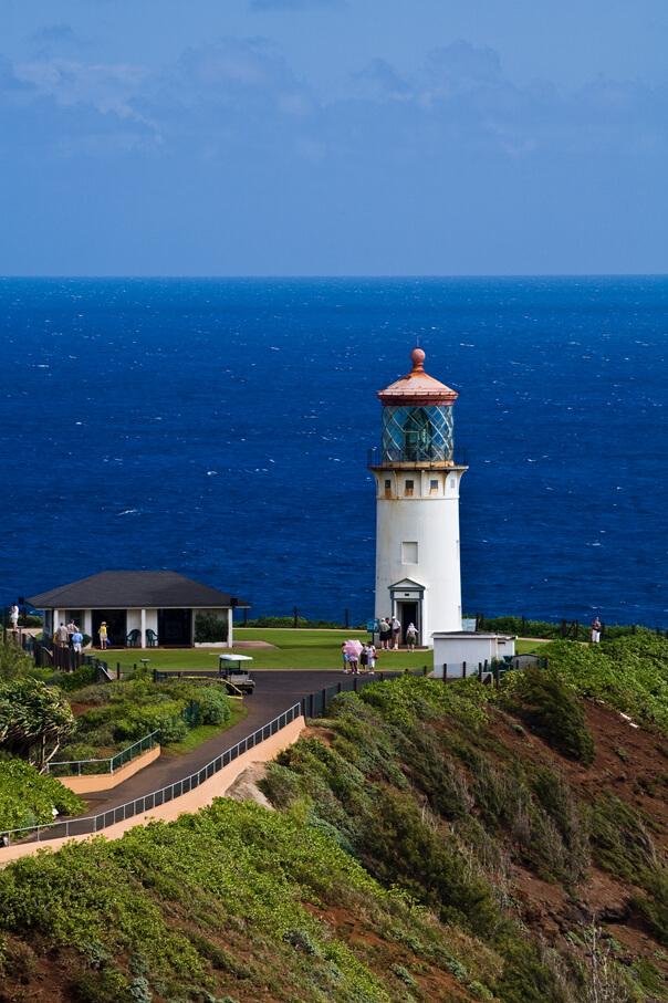 101 Best Things to Do on Kauai with Kids featured by top Hawaii blog, Hawaii Travel with Kids: Kilauea Lighthouse, Kauai