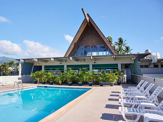 Hawaii Vacation Condo vs Hotel pros and cons featured by top Hawaii blog, Hawaii Travel with Kids: This Maui Beach Hotel is affordable and located near the Maui airport