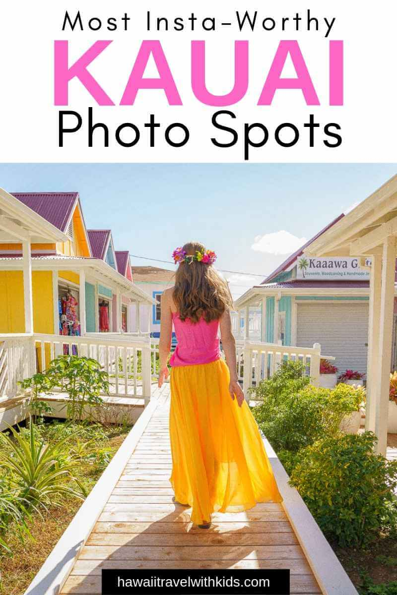 Top 12 Best Photo Opportunities on Kauai featured by top Hawaii travel blog, Hawaii Travel with Kids | Planning a trip to Kauai? Find out all the coolest photo spots on Kauai. Definitely some gorgeous, Insta-worthy Kauai photography locations. #Kauai #hawaii