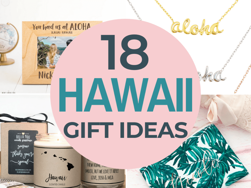 Hawaii Gift Ideas for the Holidays featured by top Hawaii blog, Hawaii Travel with Kids | Looking for a gift for someone who loves Hawaii? Check out these amazing Hawaii gift ideas full of Hawaiian products and home decor.