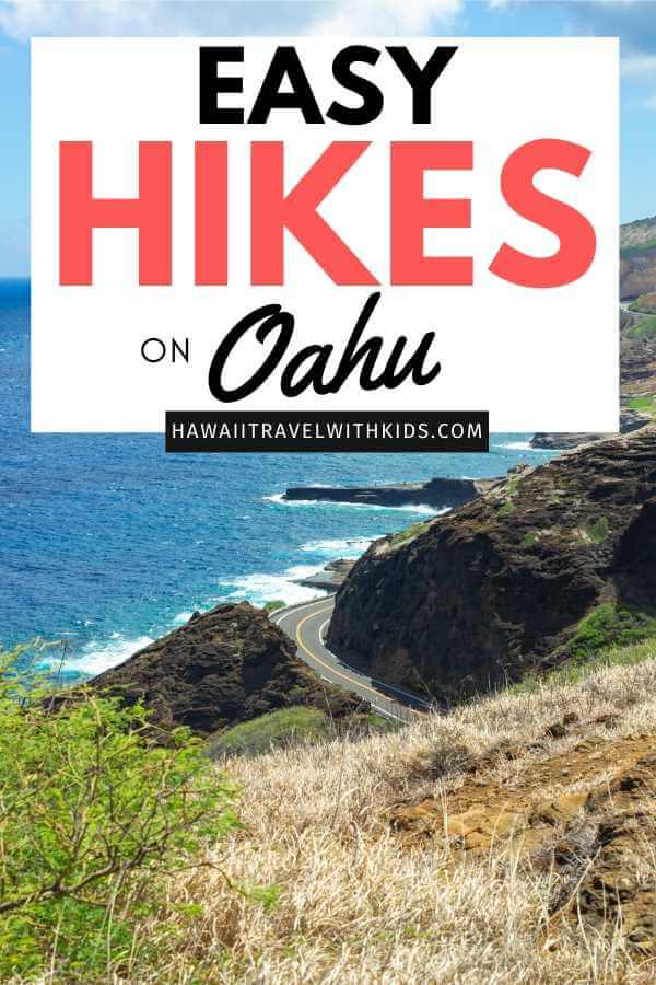 6 Easy Hikes on Oahu for Families featured by top Hawaii blog, Hawaii Travel with Kids