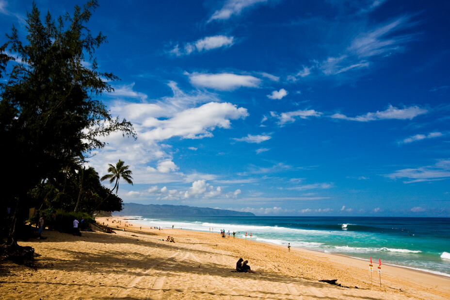 The Best 7 North Shore Oahu Beaches featured by top Hawaii blog, Hawaii Travel with Kids: North Shore Oahu beach