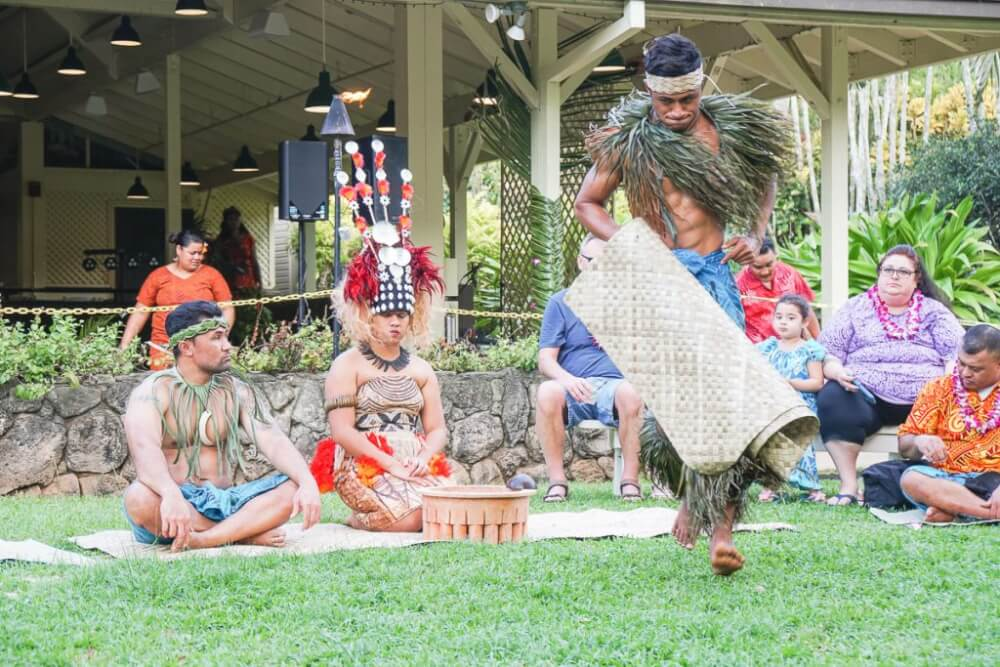 The best things to do in North Shore Oahu featured by top Hawaii blog, Hawaii Travel with Kids: Toa Luau is a popular North Shore Oahu luau