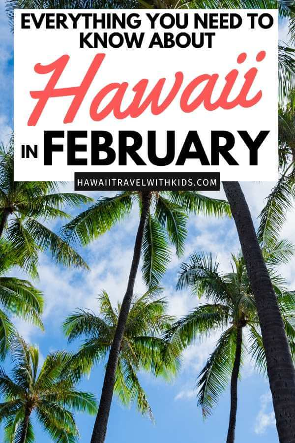 Visiting Hawaii in February with your Family, a travel guide featured by top Hawaii blog, Hawaii Travel with Kids.