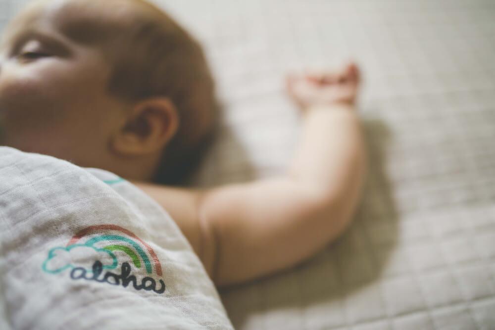 Hawaii baby blanket by Coco Moon