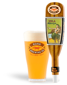 The Best Hawaiian Beer to Enjoy on Maui featured by top Hawaii blog, Hawaii Travel with Kids: Hula Heffeweizen beer from Kona Brewing Co.
