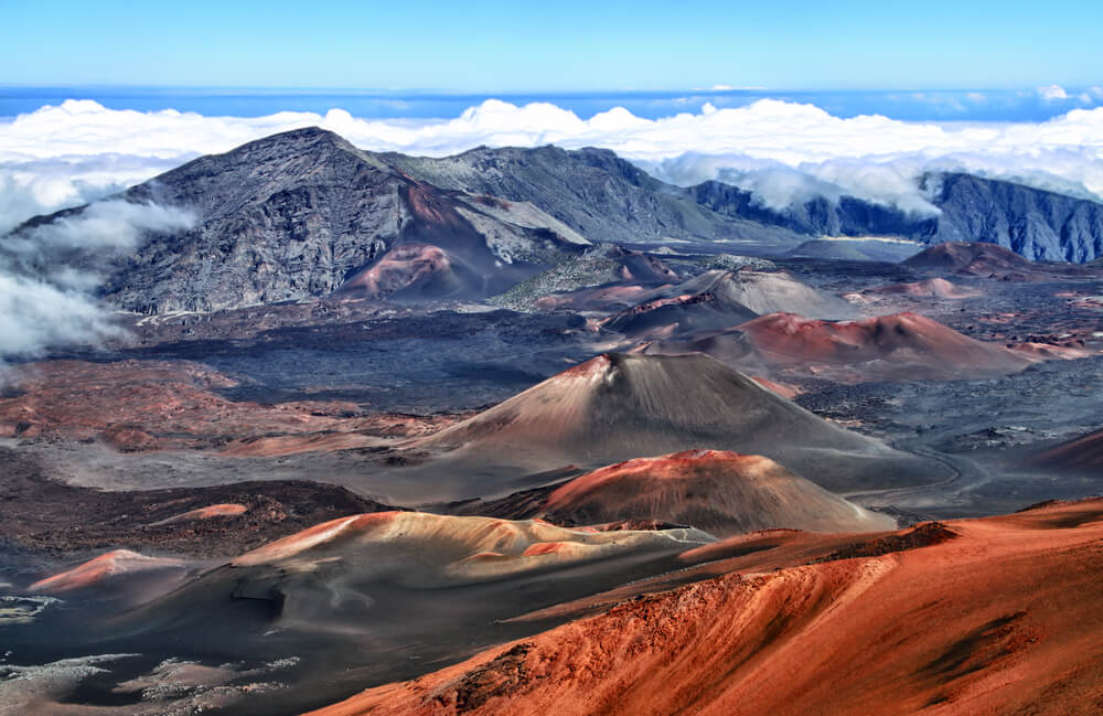 50 Best Places to Visit in Hawaii with your Family featured by top Hawaii blog, Hawaii Travel with Kids: Haleakala Crater on Maui.