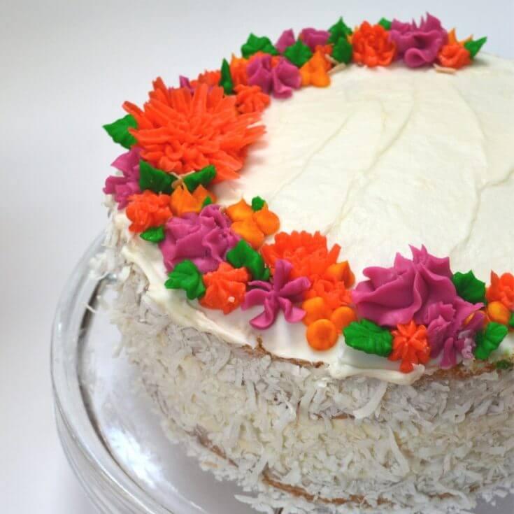 Hawaiian Style Coconut Cake Recipe