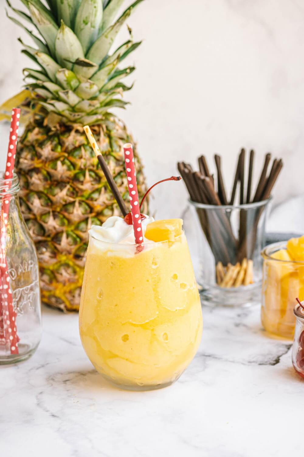 Pineapple Dessert Recipe Roundup by top Hawaii blog Hawaii Travel with Kids: Copy Cat Dole Whip Recipe by top Hawaii blog Hawaii Travel with Kids