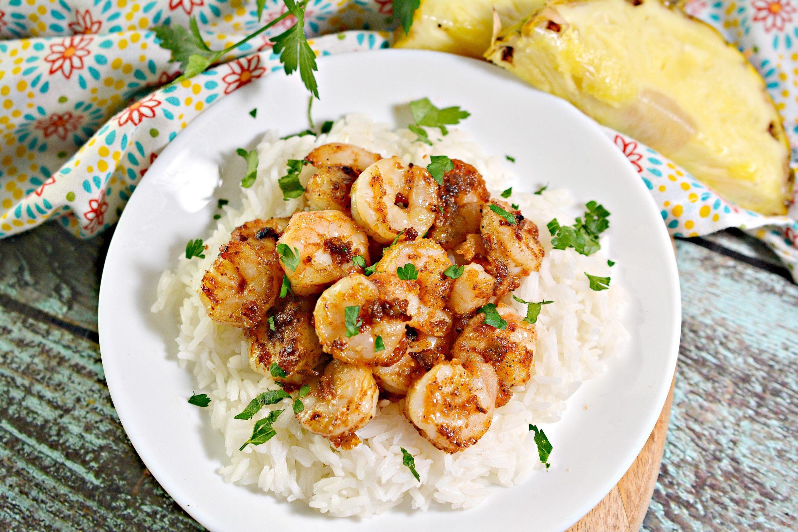 Hawaiian Garlic Shrimp Recipe featured by top Hawaii blog, Hawaii Travel with Kids. | garlic shrimp recipe hawaii
