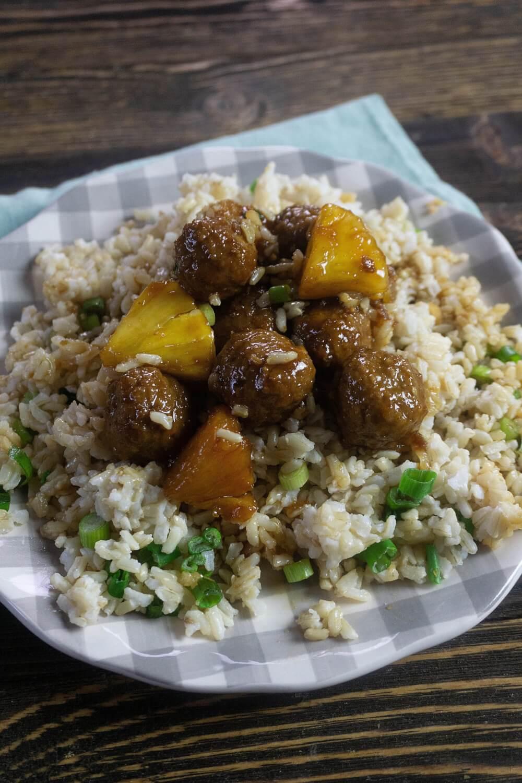 Hawaiian Style Instant Pot Teriyaki Meatballs featured by top Hawaii blog, Hawaii Travel with Kids.