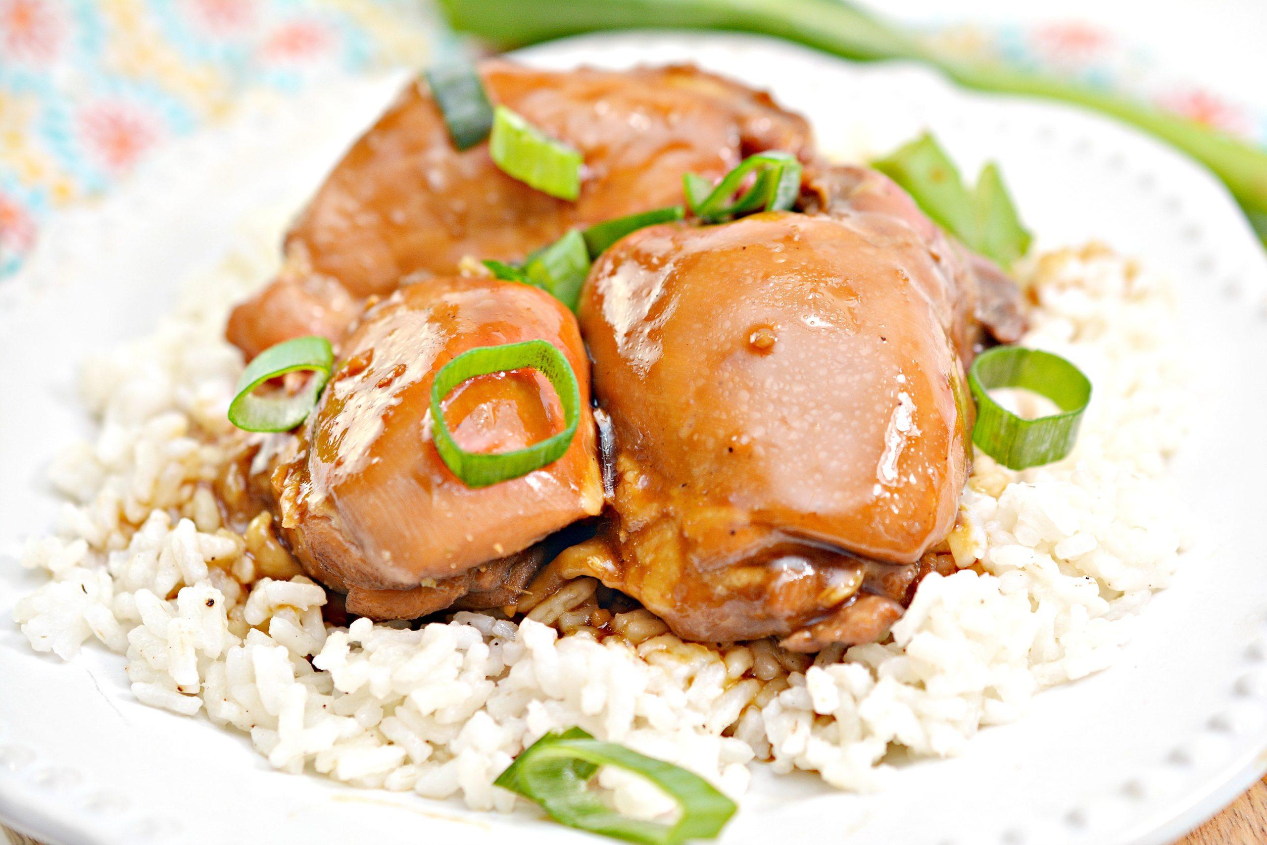 Hawaiian Shoyu Chicken Recipe featured by Top Hawaii Blog Hawaii Travel with Kids