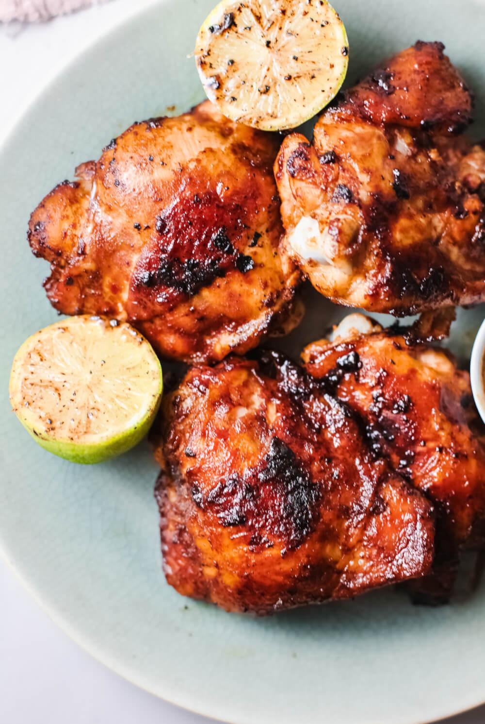 Baked Huli Huli Chicken Recipe featured by top Hawaii blog, Hawaii Travel with Kids. | huli huli chicken recipe oven