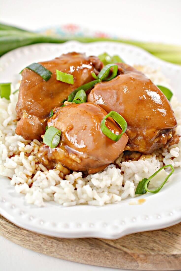 Hawaiian Shoyu Chicken Recipe featured by top Hawaii blog, Hawaii Travel with Kids