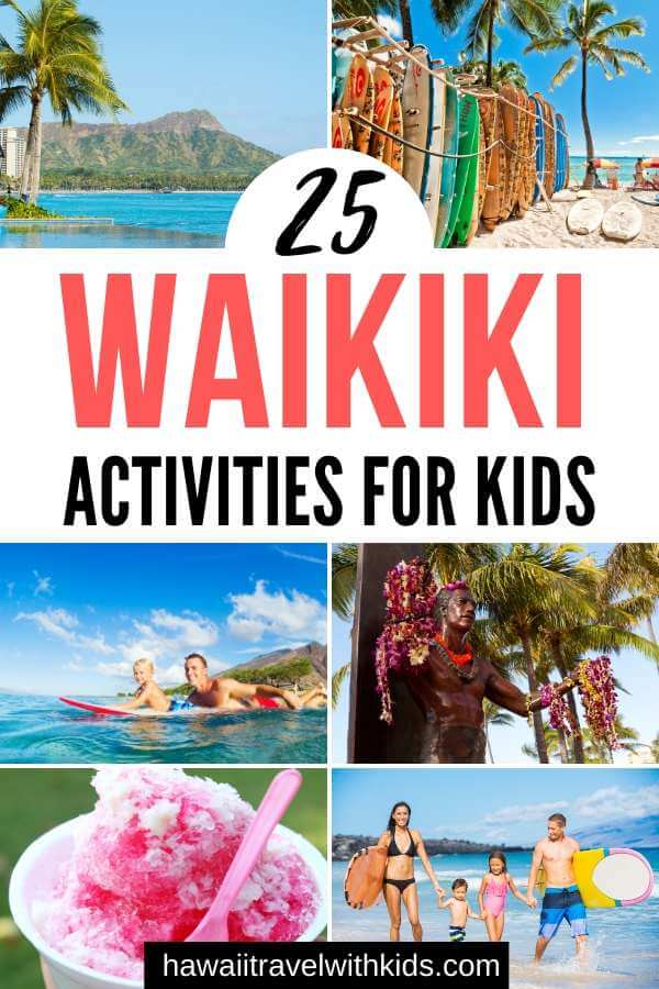 25 Amazing activities in Waikiki with kids featured by top Hawaii blog, Hawaii Travel with Kids.