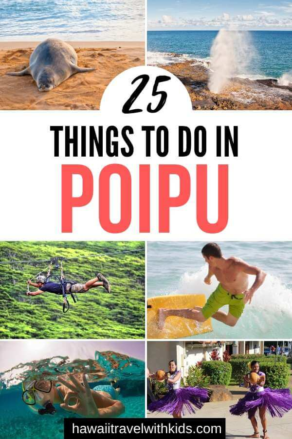 Top 25 Things to do in Poipu, Kauai featured by top Hawaii blog, Hawaii Travel with Kids