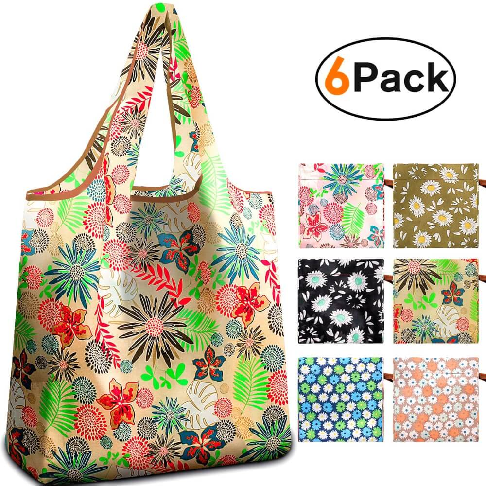 Family Hawaii Packing List featured by top Hawaii blog, Hawaii Travel With Kids: reusable bags