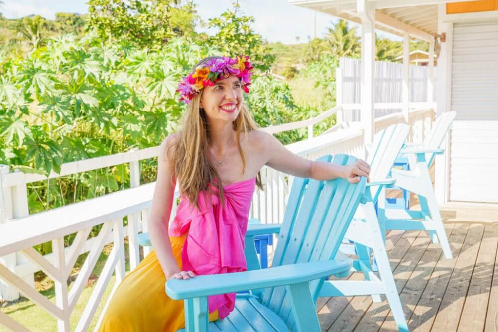 Top 12 Best Photo Opportunities on Kauai featured by top Hawaii travel blog, Hawaii Travel with Kids: The NoKa Fair in Kapaa has some of the best photo opportunities on Kauai.