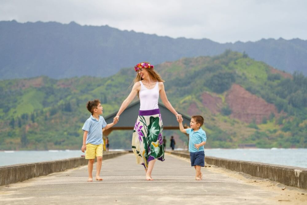 Top 12 Best Photo Opportunities on Kauai featured by top Hawaii travel blog, Hawaii Travel with Kids: Up on the North Shore, Hanalei is a one of the best photo opportunities on Kauai.