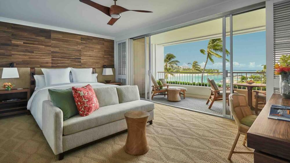 Top 8 Romantic Oahu Honeymoon Resorts featured by top Hawaii blog, Hawaii Travel with Kids: Four Seasons Ko Olina on Oahu