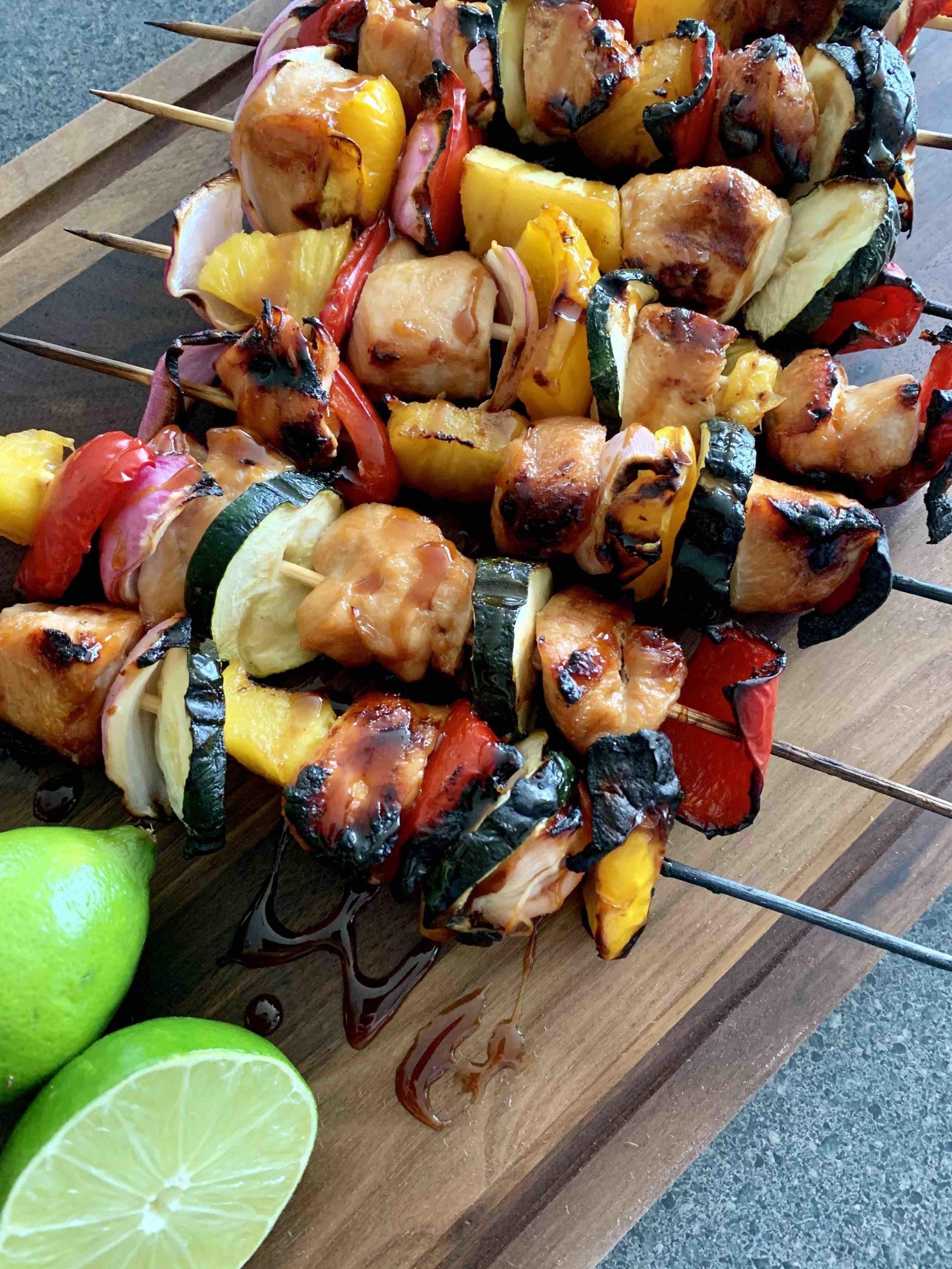 Hawaiian Teriyaki Chicken Skewers Recipe Hawaii Travel With Kids