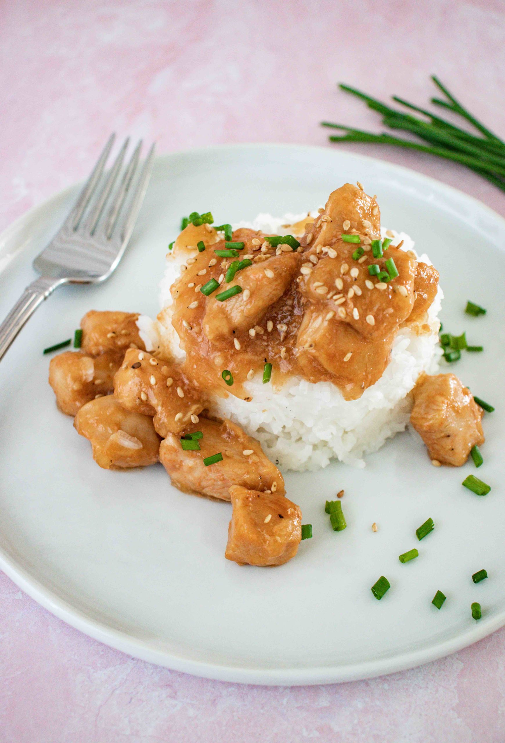 Instant Pot Teriyaki Chicken Recipe by top Hawaii Blog Hawaii Travel with Kids