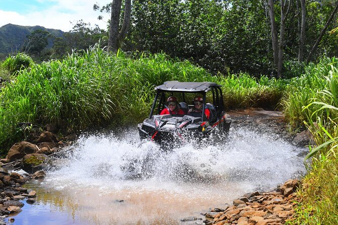 Top 25 Things to do in Poipu, Kauai featured by top Hawaii blog, Hawaii Travel with Kids: Kauai ATV Tour