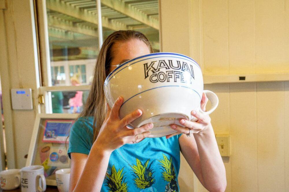 101 Best Things to Do on Kauai with Kids featured by top Hawaii blog, Hawaii Travel with Kids: Kauai Coffee is a top Kauai attraction
