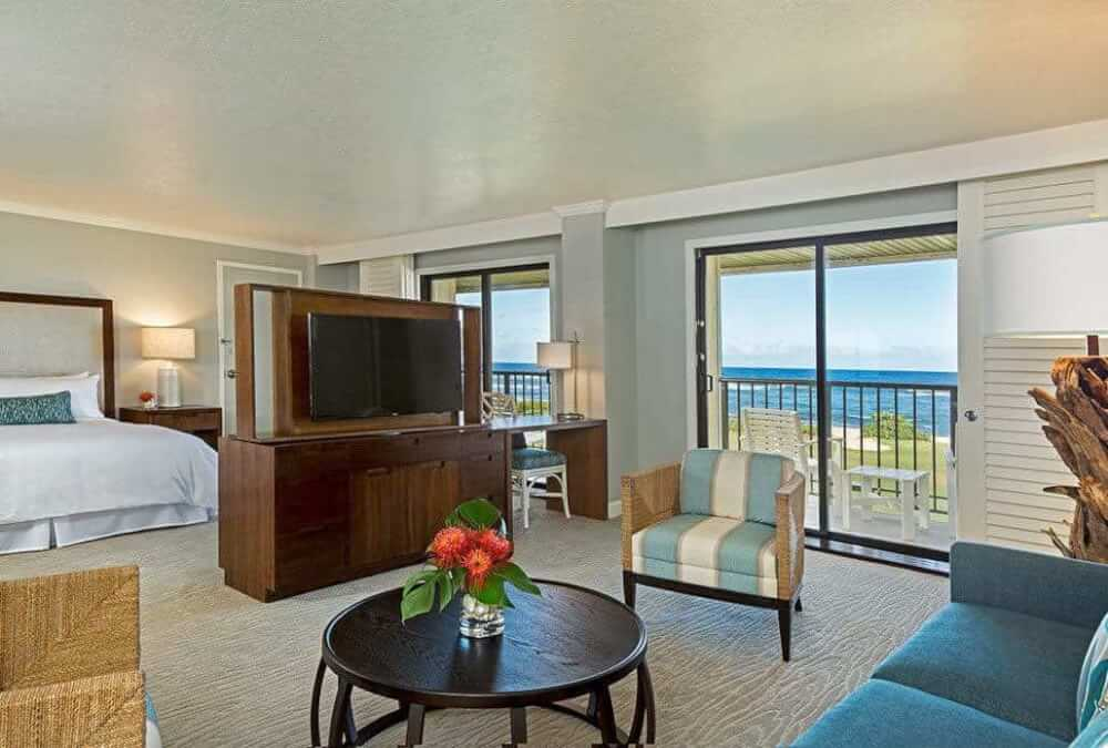 Kauai Beach Resort Oceanfront Suite
