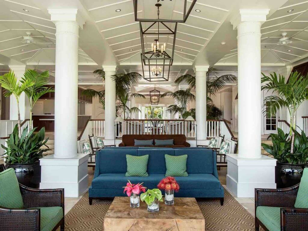 Kauai Beach Resort lobby