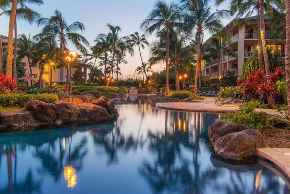 Koloa Landing Resort in Poipu Kauai | kauai romantic hotel