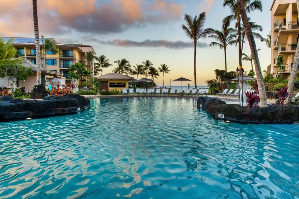 Main Pool at Koloa Landing Resort