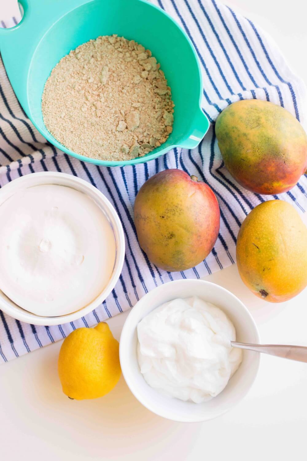 Mango Mousse Cake ingredients
