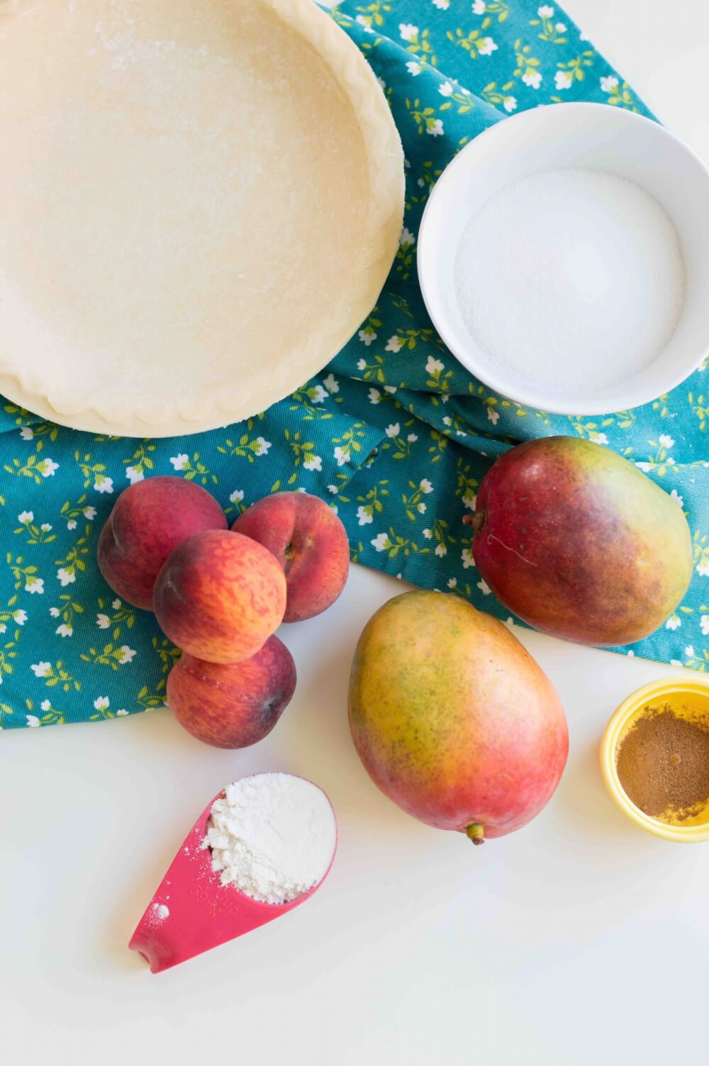 Mango Peach Pie recipe by top Hawaii blog Hawaii Travel with Kids