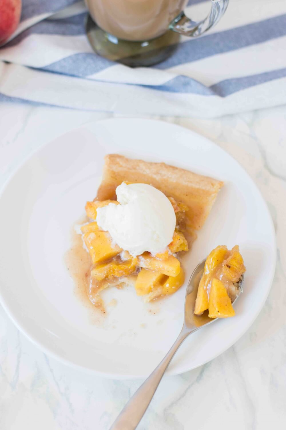 Mango Peach Pie by top Hawaii blog Hawaii Travel with Kids