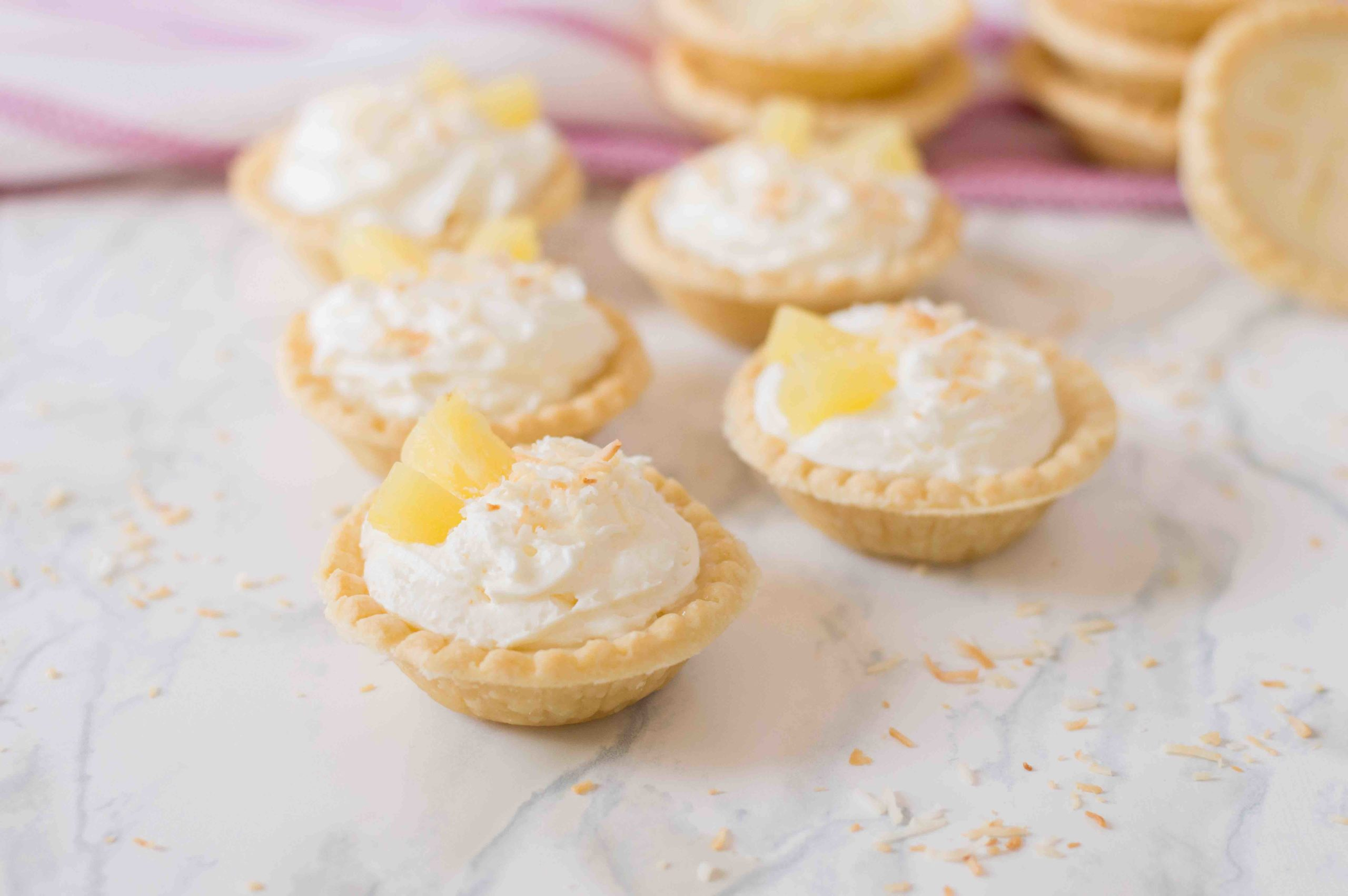 Pineapple Dessert Recipe Roundup by top Hawaii blog Hawaii Travel with Kids: Pineapple Tarts Recipe
