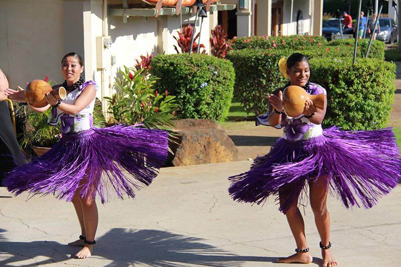 Top 25 Things to do in Poipu, Kauai featured by top Hawaii blog, Hawaii Travel with Kids: Free hula show on Kauai at Poipu Shopping Village