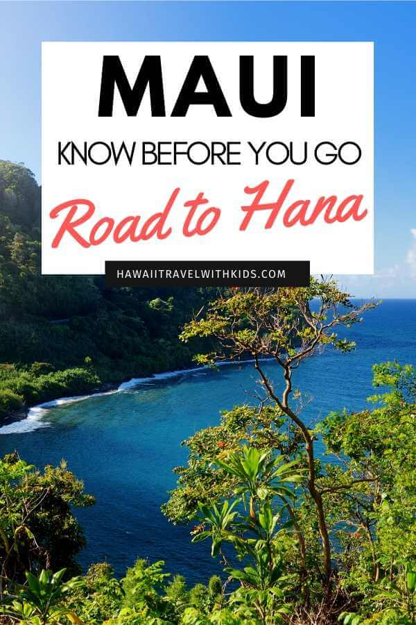 Road to Hana Guide: 15 Things to Know Before You Drive the Road to Hana featured by top Hawaii blog, Hawaii Travel with Kids